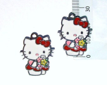 Hello Kitty Charm Pendant