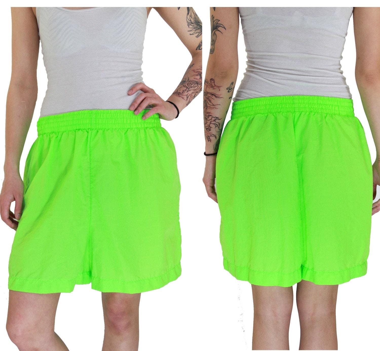 Mens Neon Shorts