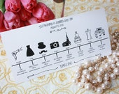 Wedding Timeline (printable)