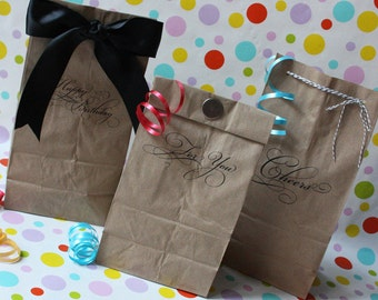 Printable Lunch Bag Gift Set