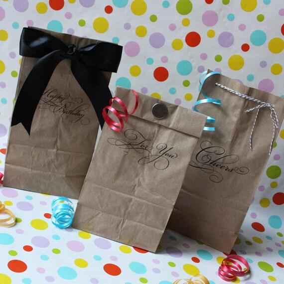 Printable Lunch Bag Gift Set