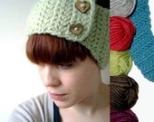 Headband and Ear warmer  - keep warm without messing up your hair