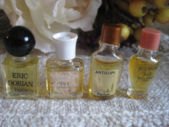 Authentic Vintage  Micro Mini PERFUME COLLECTION