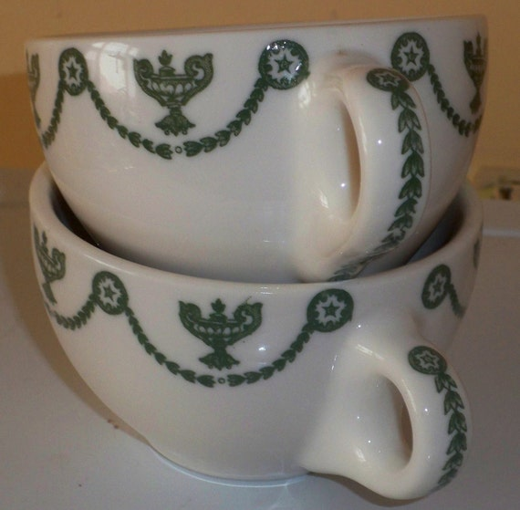 Syracuse China Coffee Cups St Elmo O P Company