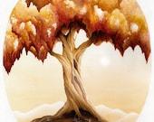 Autumn (II) - 11 x 14 Art Print - Painting