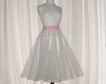 Stiff circular petticoat custom made