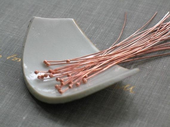 Basket Weaving Supplies Raleigh Nc : Handmade raw copper head qty