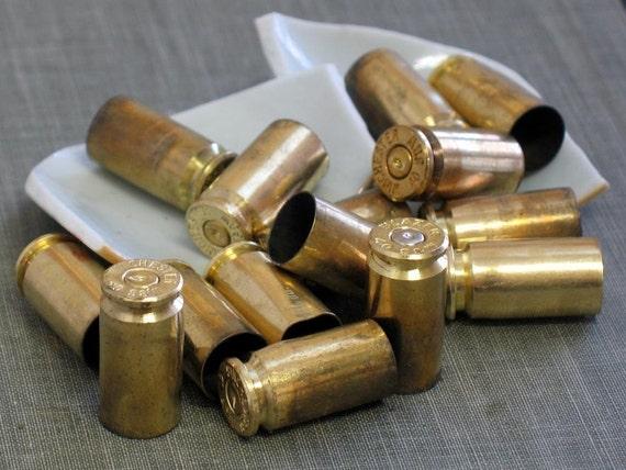 40 caliber bullet casings- qty 15
