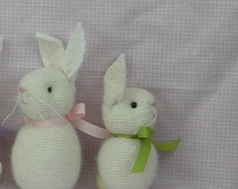Baby the bunny sweetest soft cashmere waldorf style bunny ready for playtime