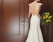 Wedding Dress Couture Eco-friendly Natural Morgan Boszilkov LUCY