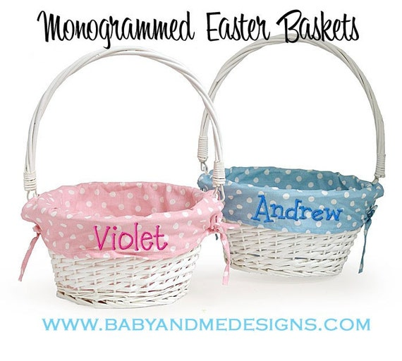Personalized Easter Baskets Personalized Easter Basket