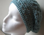 Millie Slouch Beanie - CUSTOM crocheted from bamboo or wool