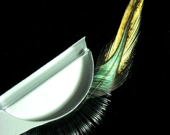 Guilded Forest Fox - Handmade Feather Eyelashes