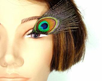 Peacock Feather Eyelashes - Bright Eyes