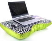 Jumbo Lime Zebra Laptop Lap Desk
