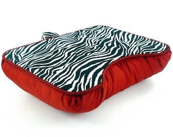 Medium Red Zebra Lap Desk