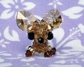 Crystal Chihuahua Charm (Diego)