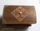 Folk Art Wooden Box