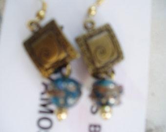 Mystic Blue  earrings