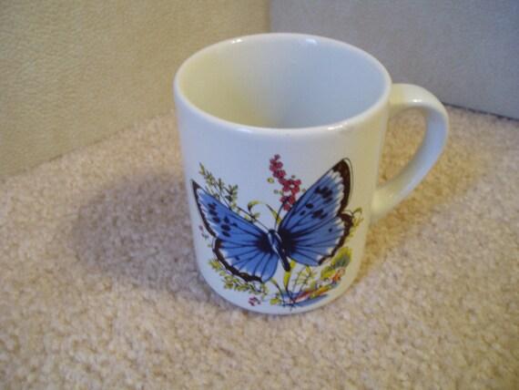 Blue Butterfly....mug
