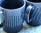 Early Morning Cups - Vintage Made in Japan Mugs - Japan Relief