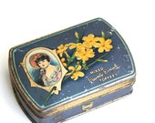 Put Your Treasures Here - Vintage Tin Made in England