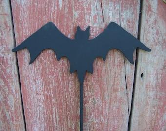 Bat Pumpkin Stake