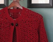 Garnet Red Sweater/Jacket