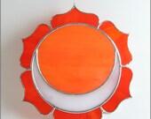 Orange Sexual Chakra Stained Glass Suncatcher