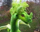 RESERVED LISTING FOR ROSEOFSHARONLYN- Key Lime Dragon