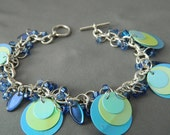 Blue Green Retro Bracelet