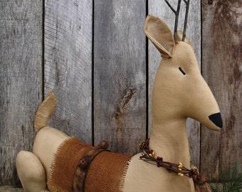 Sleigh Bells A Ringin' Reindeer Sitter Instant Download Pattern