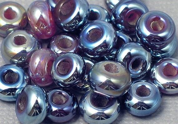 Lampwork Spacer Beads - Kalypso