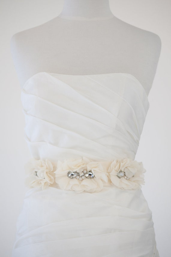 Bridal Gown Sash, Wedding Dress Sash, Ribbon Sash, Dress Sash