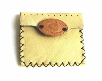 Butter Yellow Kidskin Slim Wallet Lemon Drop Mini Wallet Compartment Wallet Sale Free Shipping Handmade