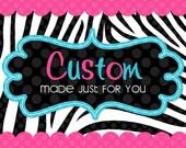 Custom Listing for Raquelm