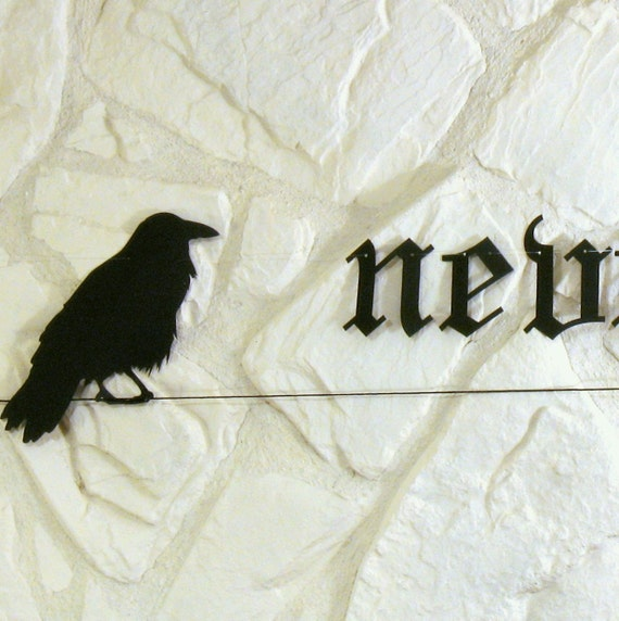 Quoth the Raven - Halloween Garland
