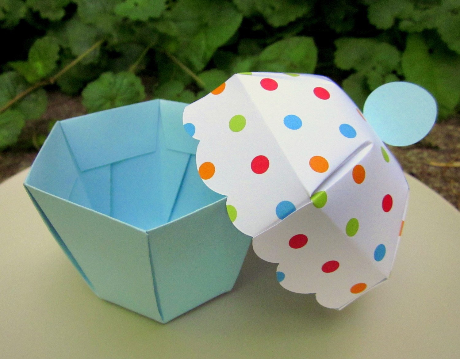Etsy Cake Favor Boxes