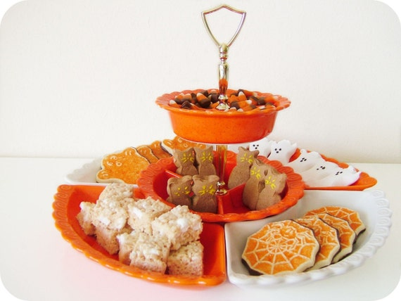 vintage party tray