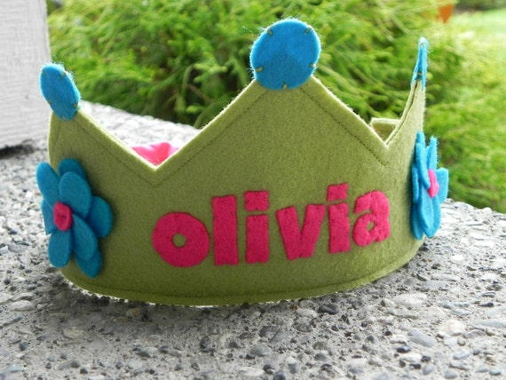 Name Your Birthday Crown - Girlie