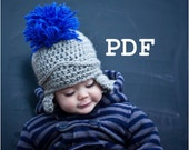 PDF Pattern for Spartacus Roman Centurion Soldier Crochet Hat