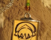 Toph's Wanted Poster Pendant