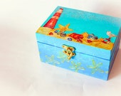 RESERVED Wedding ring bearer box, Jewelry box, Storage box, Memory Box - Gift Idea, Decorative Art - Ready to ship