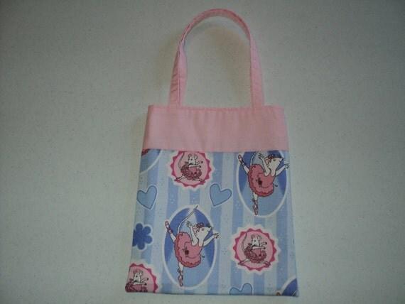 Fabric Gift Tote/Bags - Angelina Ballerina