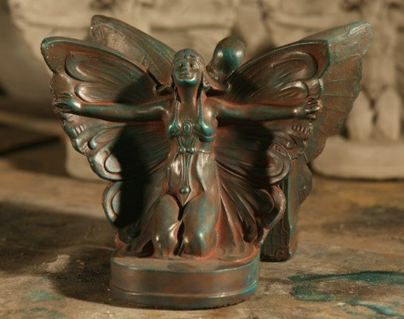 butterfly bookend pair