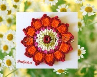 3 pieces Crochet Applique GYPSY.....