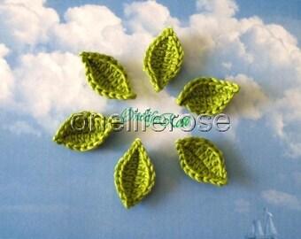 Crochet Leaf 1 piece