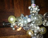 Pearly Large Hand Beaded Cross