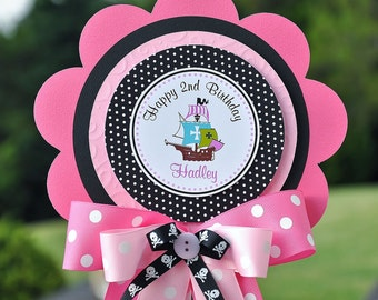 Pirate Girl Luxurious XL  Birthday Centerpiece