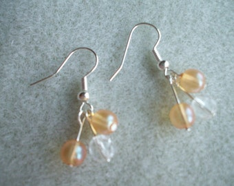 Golden Dew Drops Earrings